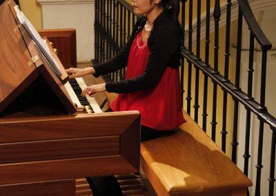 Atsuko Takano en el Festival de Órgano 2015 de Toledo 15