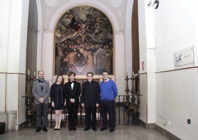 Baptiste Florian en el Festival de Órgano 2015 de Toledo 15
