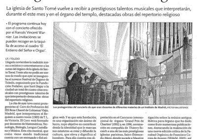 2012 La Tribuna de Toledo